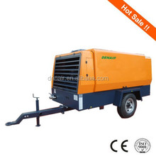 150psi portable diesel air compressor for oil and gas