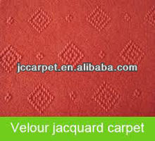 100% polyester nonwoven needle punched jacquard floor carpet