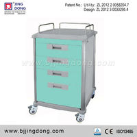 Hospital Clinic Medication Delivery Trolley Cart