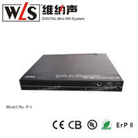 The most popular micro dvd player P-1 with USB playing