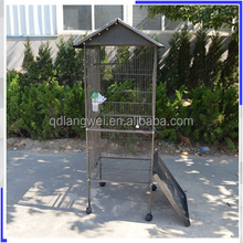 Heavy duty wire mesh stainless steel bird cage
