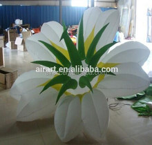 custom giant inflatable artificial flower decoration flower indian wedding decorations