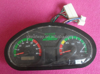 dash display unit combination instrument