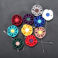 Wholesale Pins Flower Brooch Mens Fabric Crafts Lapel Pins for Wedding Suit