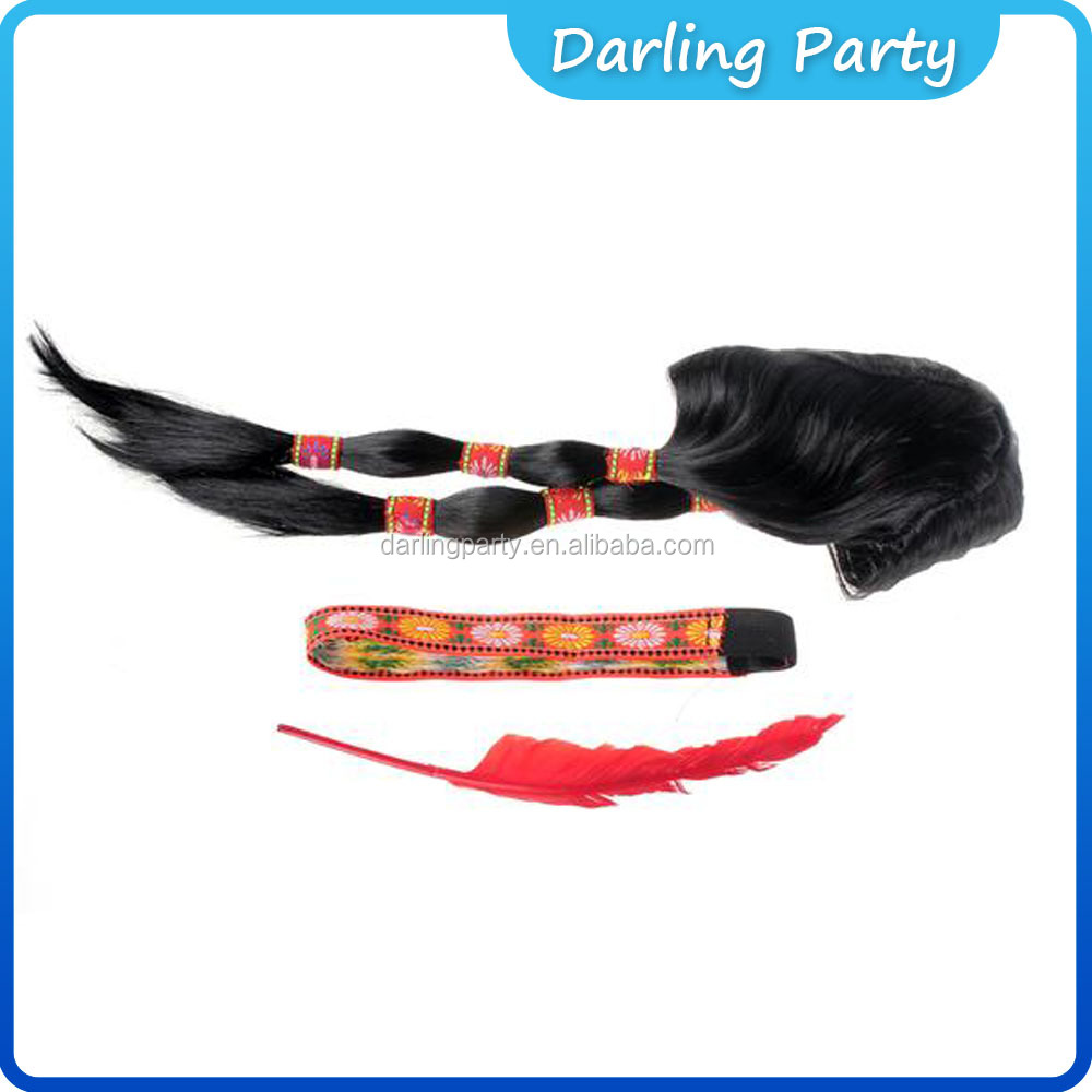 hot sale cosplay party wigs high quality crazy carnival party wigs sets