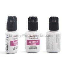 Fast dry and strong eyelash extension glue