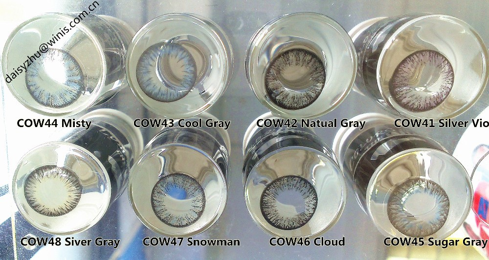 [50 Colors] wholesale korea cosmetic goat eye / doll eyes color contacts