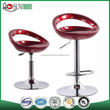 Cheap Commercial Bar Stool Plastic Bar Stool Swivel ABS Bar Stool For Sale
