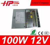 Reliable brand CE ROHS Approved Dual 120W 12V -12V 5A Led&driver ac dc power supply smps