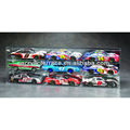 Nine Car 1-18th Scale Die Cast Car Acrylic Display Cases for Die Cast Car with Mirrored Back - db140202313