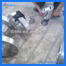 specialized production gr2 titanium flange for butterfly valve