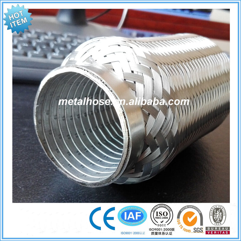 Tail pipe Type exhaust muffler hose tube/exhaust tail pipe