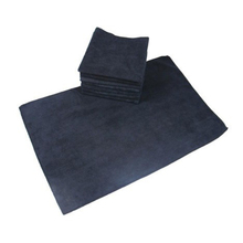 black face towel with microfiber fabric/cotton hot selling