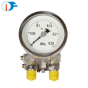 High Quality Customized All SS Differential Manometer