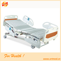 five function electric hospital bed medical equipment