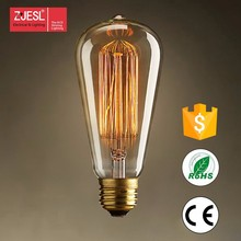 40/60w e27 ST64 led vintage edison bulb for wholesale