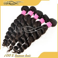 Grace hair products hot selling wholesale 5a grade virgin loose wave Indian hair 10 to 36 inches