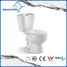 Practical modern design high quality two piece toilet bowl (AT6800)