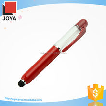 2015 promotional Multifunction Pen metal LED light Pen