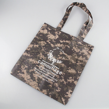 2017 Fashionable Camouflage Pattern PET Shopping Bag/Sublimation Non Woven Bag