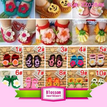 Multi colors design summer wholesale baby shoes in bulk