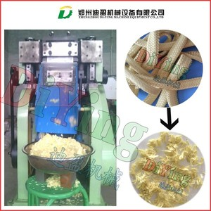 1-100mm short size weaved Kevlar chopping machine / kevlar blanket chopping machine / Kevlar cutter