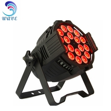Wedding Lighting Dmx 18*18w Rgbwa+uv 6in1 Indoor Led Par Light