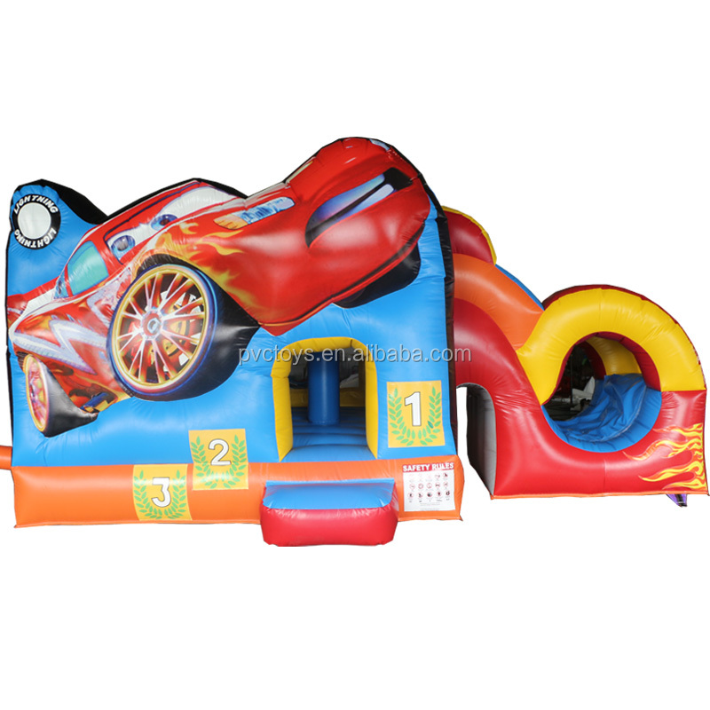 Commercial grade inflatable bounce house,bouncy castles with slide,jumping castle for sale