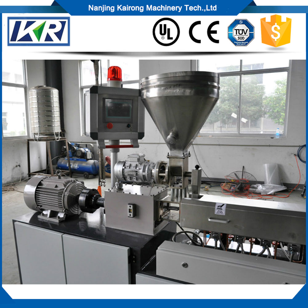 PP PE Hard Flakes Plastic Granules Making Machine/High Output PVC Extruder for Cable Wire Masterbatch Plastic Machine