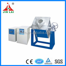 Medium Frequency ISO 9001:2008 IF High Quality Power Small Electric Smelting Furnace Gold and Silver Melting Machine (JLZ-15)
