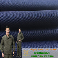 Anti-Abrasion 100% Polyester 300D x 600D Twill Oxford Woven Gabardine Fabric For Workwear Workshop Uniform Cloth