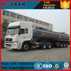50000 litres Aluminum alloy Oil semi tanker trailers sale