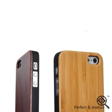 mobile phone accessories Engraving high quality shockproof wooden case back cover for iphone 5g 5s