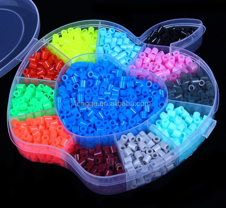 Sale hot 1000pcs 5mm Hama / Perler Beads for great kid fun color mixed