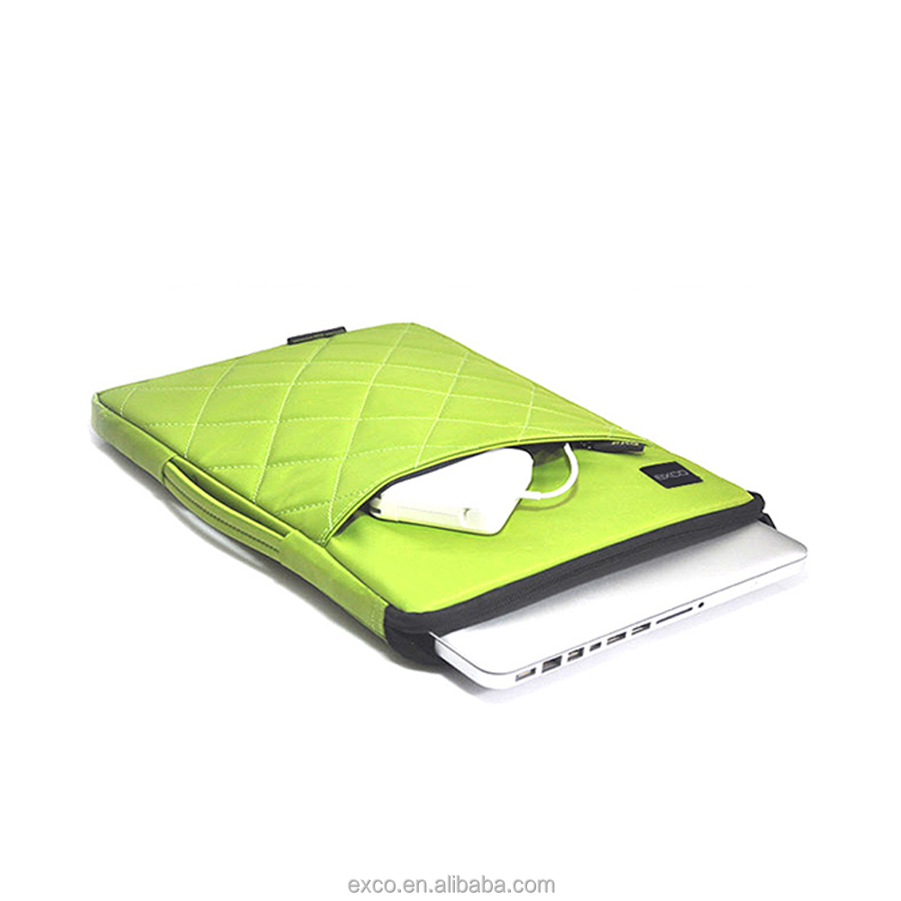 Factory in Guangzhou EXCO hidden handle waterproof nylon 11 13 15inch laptop case for apple