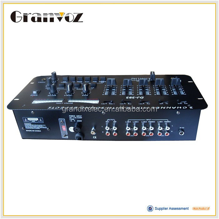 Professional design low price digital audio video mixer