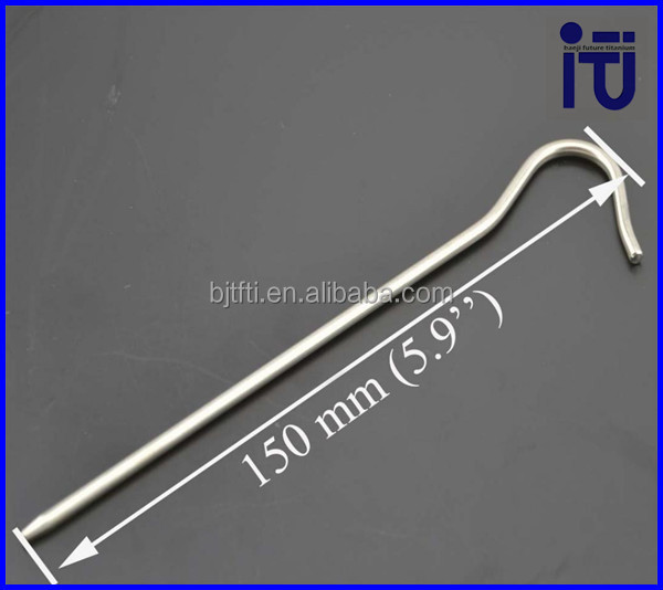 Tent Peg Ground Peg Tent Stake Nail Pin Outdoor Camping Titanium Tent Nail