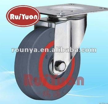 European type sandwich swivel industrial casters