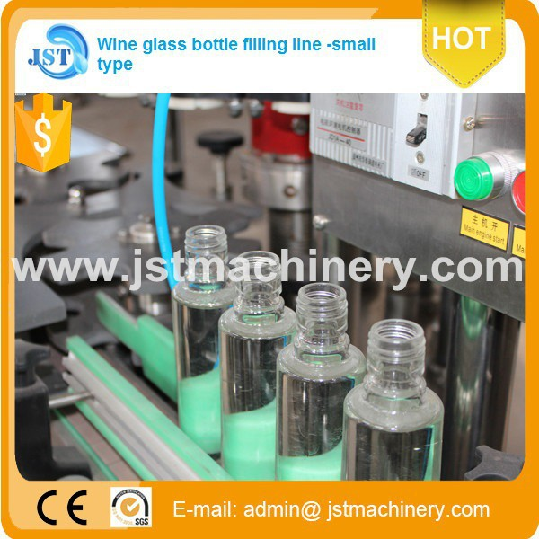 Chinese brand automatic seperated type vodka/whisky/tequila filling appliance