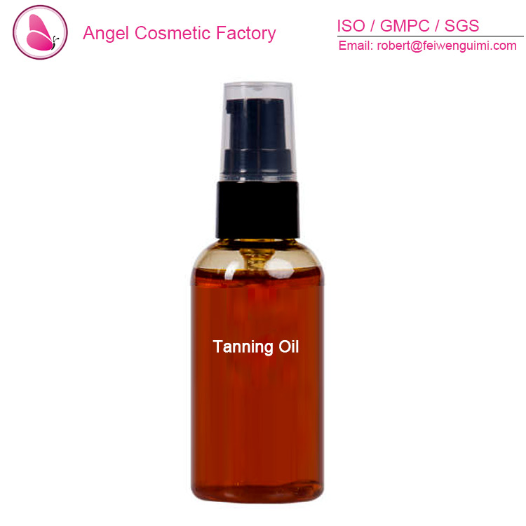 private label tanning oil spray for sun tan