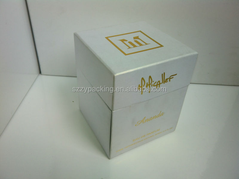 Luxury Customized Unique Paper Perfume Boxes making by box factory