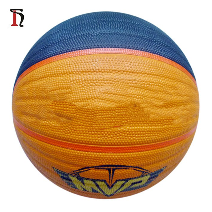 China Size 7 size 5 colorful rubber basketball, customize your own basketball, mini basketball ball