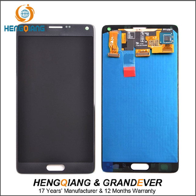 Ali express shenzhen for samsung galaxy note 4 lcd touch screen digitizer