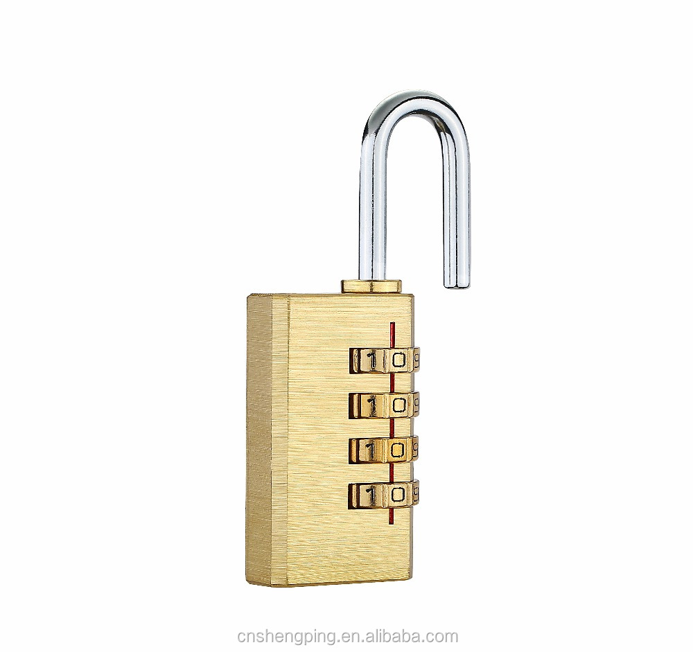28mm High quality 4 digital letter Brass Combination Padlocks
