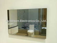 "S2608 26"" high brigtness washroom advertising Mirror TV"