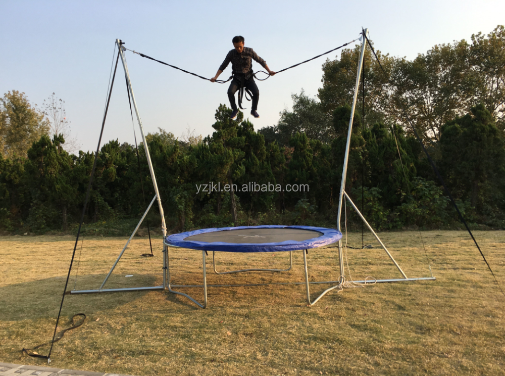 adult outdoor trampoline bungee for sale