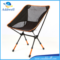 Outdoor collapsible retractable automatic pop up superlight aluminum alloy folding camping beach fishing chair