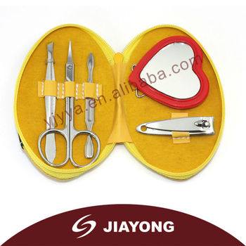 New style colorful mini manicure set