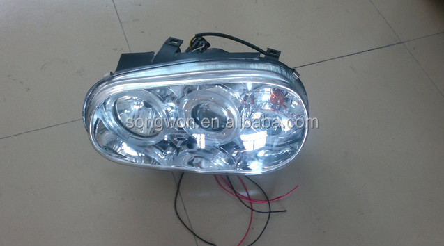 for vw golf 4 headlights/head lamp/front lamp with top quality