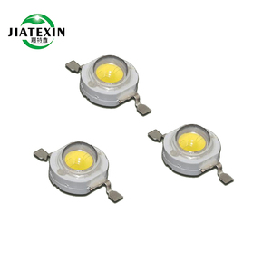 Warm White Colors LM80 High Lumen Bridgelux 45mil Chip 1w 3w High Power LED